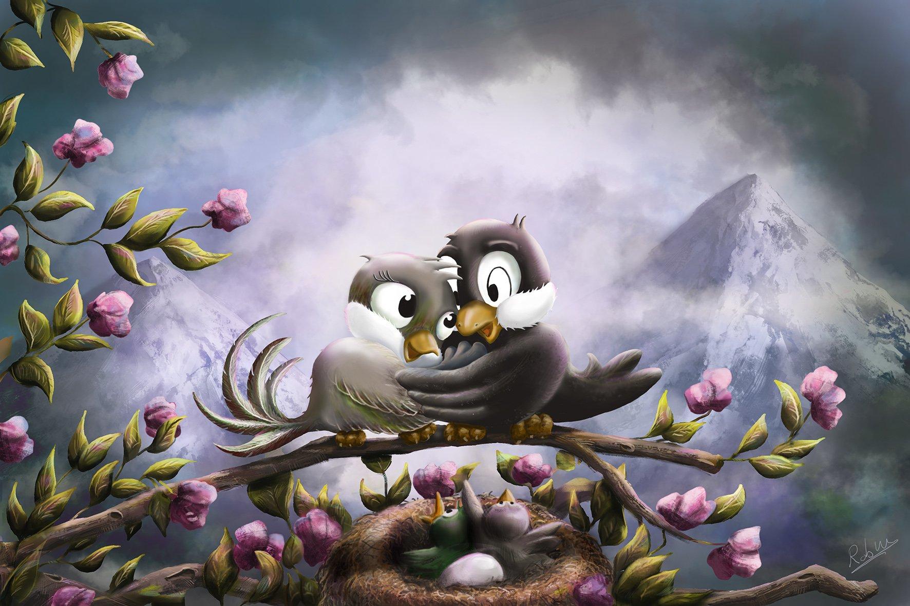 Birds in Love