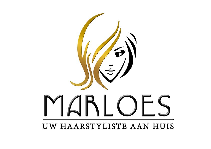 Haarstyliste Logo design