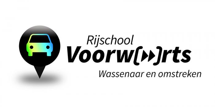 Logo design Rijschool Voorwaarts Wassenaar